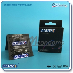 MANGO contoured condoms