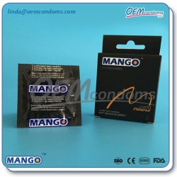 MANGO Flavored condoms