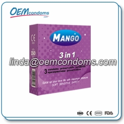 MANGO Anatomic Shaped condom manufacturer